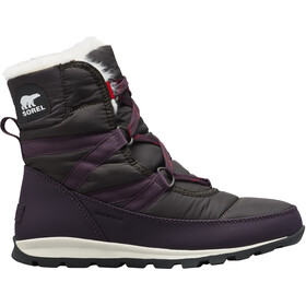 Sorel Whitney Short Lace Botas Mujer, dark plum